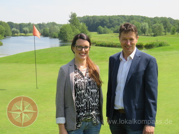 MdL Stephan Haupt (FDP) besucht Golf International Moyland